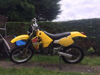 Suzuki rm250x road legal enduro like kx cr yz drz klx kle