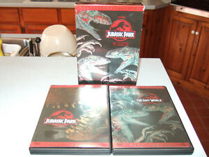 Jurassic Park 1 and 2 (Collector's Edition) DVDs-$4