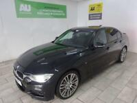 BLACK BMW 3 SERIES 2.0 320D M SPORT ***FROM £327 PER MONTH***