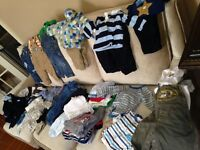 Boys Summer/Fall 6-9 month clothing lot