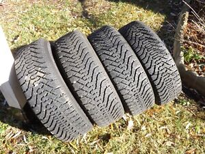 Set of 4 195 65R 15   GOODYEAR NORDIC SNOW TIRES