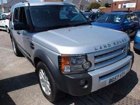 2007 57 LAND ROVER DISCOVERY 2.7 3 TDV6 XS 5D AUTO 188 BHP DIESEL