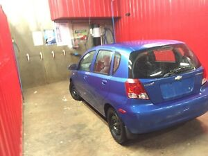 2004 Chevrolet Aveo ls - needs safety - call 204-229-9966