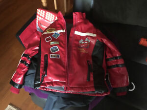 Mcqueen leather jacket - size 6x