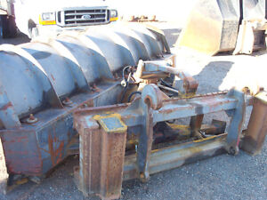Heavy Duty Holms 10ft hydraulic power angle plow for loader