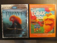 Two 3D blu ray movies