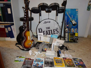 Special Edition Beatles Rock Band with Wii console: BONUS ITEMS