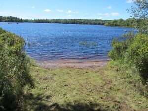 Lakefront lot for sale with a sandy beach!!