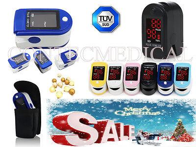 Cms50dl Finger Pulse Oximeter Blood Oxygen Saturation Spo2 Pr Monitor Heart Rate
