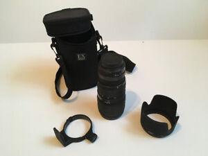 Sigma pour Canon 70-200mm f/2.8 APO EX HSM.