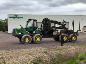 2011 John Deere 1910E forwarder for parts