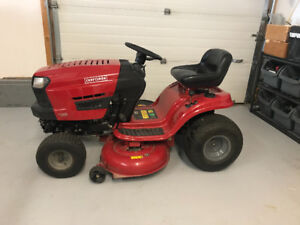"2014 Craftsman 42"" riding mower"