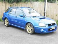 Subaru Impreza 2.0 WRX Turbo, Blue, Estate, 2004, 6 Months AA Warranty