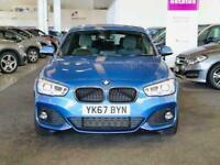 2017 BMW 1 Series 118I 1.5 M SPORT NAV 5DR COMFORT PACK Petrol Manual