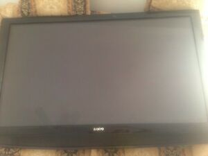 """55"""" sanyo with wall mount"""