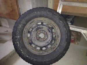 4 pneus d'hiver West Island Greater Montréal image 1
