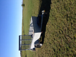 2007 galvanized utility trailer 5x8 in excellent condition
