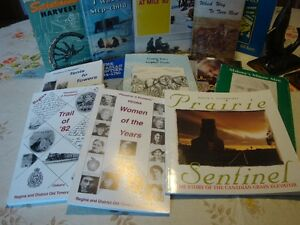 Various Pioneer History Books - Non-Fiction