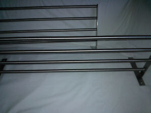 Towel racks stainless stell new,Ikea