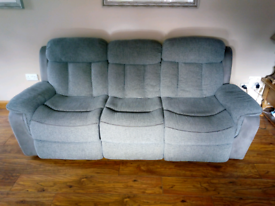 3 Seater Recliner and chair