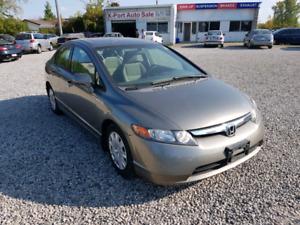 2006 Honda civic certified and etested