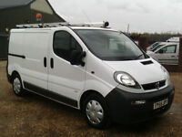 Vauxhall Vivaro 1.9CDTI EX BT LOW MILES 2006 REG CHOICE OF 2
