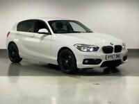 2017 BMW 1 Series 118i [1.5] Sport 5dr [Nav] Step Auto HATCHBACK Petrol Automati