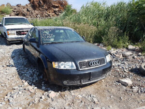2004 AUDI A4 .. JUST IN FOR PARTS AT PIC N SAVE! WELLAND