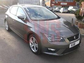 2016 Seat Leon FR Technology TDi 2.0 DAMAGED REPAIRABLE SALVAGE