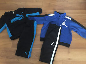 Nike and puma outfit