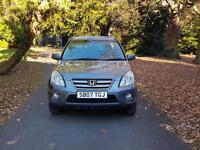 2007 Honda CR-V 2.2 i-CTDi Executive fsh sat-nav leather £3995 *freelander rav4 ml x3 x5 xtrail vw