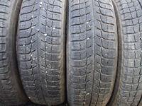 4 pneusb hiver 175-65-15 Michelin x-ice
