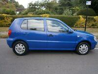 Volkswagen Polo 1.4 MATCH (blue) 2001