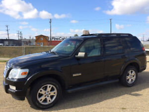 2008 FORD EXPLORER XLT 4.0L 6cyl, 7 SEATER, ONE YEAR WARRANTY!