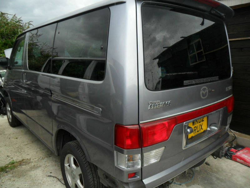 Mazda Bongo 1999 facelift v6 and 2001facelift ,2002 lastest models now breaking