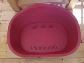 FREE dog bed basket