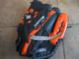 Two child's baseball glove