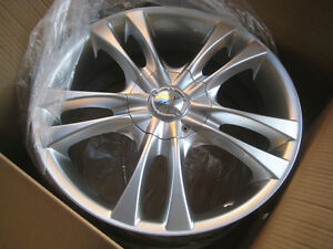 NEW Sacchi S2 Wheels 17x7 5x112 & 5x120 Silver set of 4 Rims