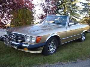 1981 Mercedes-Benz 380SL-Class Convertible