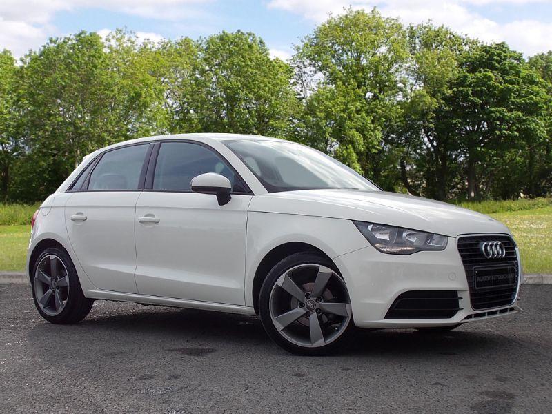 Audi A1 1.6 TDI Sport 3dr (white) 2013