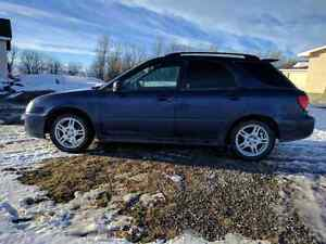 2005 Subaru impreza 2.5 rs wagon