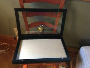 Large Pottery Barn Shadow Box in New Condition
