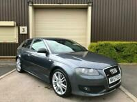 (57) 2007 Audi S3 2.0T FSI Quattro Manual Modified Leather Stage 2 Beast 360+BHP for sale  Clitheroe, Lancashire