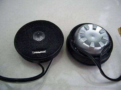 2pcs alpine HIEND 28MM vifa XT25 hifi audio car tweeter speaker 4ohm 50W