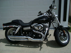 2008 HARLEY DAVIDSON FATBOB 2700 KMS FOR ONLY $15,500.