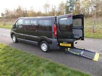 2010 Renault Trafic 2.0 DCi Automatic RICON LIFT, 6 SEATS Wheelchair Accessible