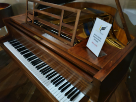 Bluthner style 4a Baby grand piano mahogany for sale