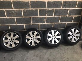 Ford Mondeo transit connect alloy wheels