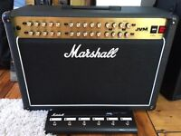Marshall JVM410C 2x12 Combo Guitar Amp with extras - Brand New and a bargain!