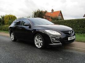 2010 Mazda 6 2.2d 180 BHP SPORT 5DR TURBO DIESEL ESTATE ** HIGH SPECIFICATION...
